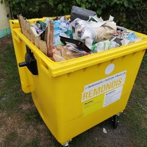Kontenery na śmieci - czy działkowcy szanują swoje pieniądze?